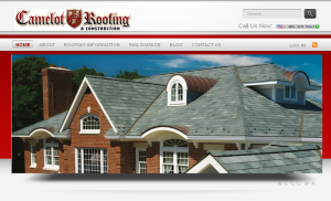Camelot Roofing Website
