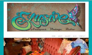 Elusive Antiques Website