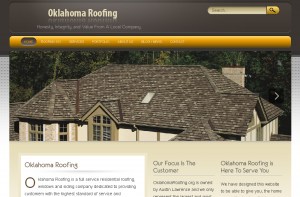 Oklahoma Roofing Website